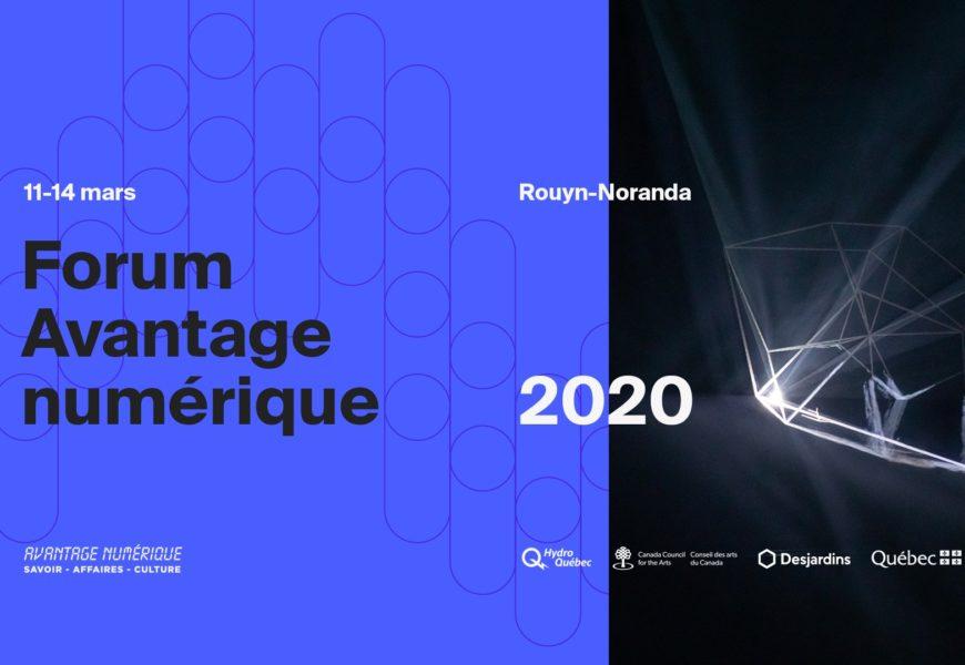 Forum Avantage numérique 2020